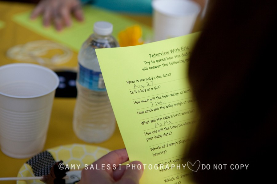 mother to bee {jenny's baby shower}